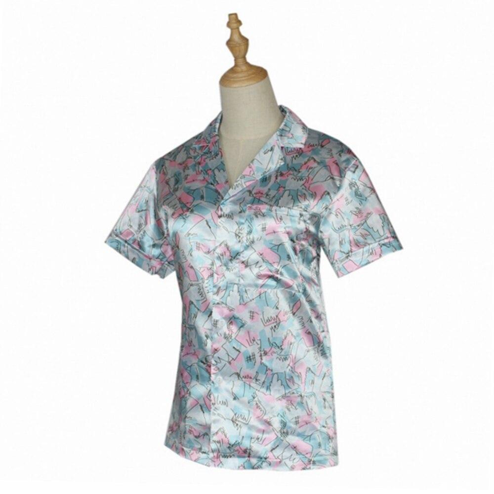 Stranger Things Season 3 Cosplay Jim Hopper T-shirt Costume Shirt Men Hawaiian Short Sleeve Cotton Tee Tops friends don t lie stranger style pop culture things t shirt2019 new short sleeve men