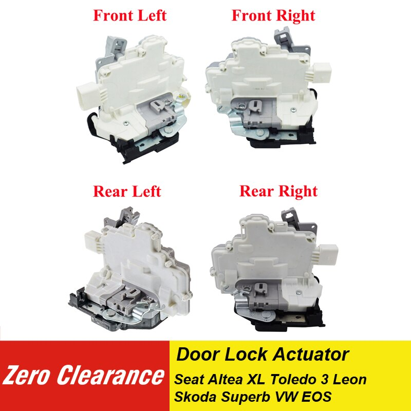 1P1 837 015 1P1 837 016 actuador de cerradura de puerta para Seat Altea XL Toledo 3 Leon para Skoda Superb para VW EOS 1P1837015 1P1837016