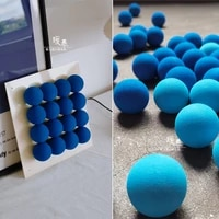 40mm decor painting ball blue miyakes style designer accessories diy party decor dolls handicrafts photo props
