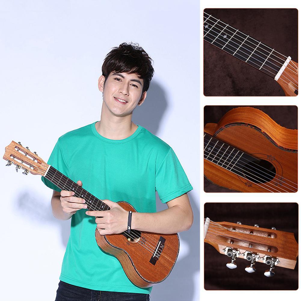 30 pulgadas 20 traste de guitarra Guitarlele ukelele 6 cuerdas guitarra acústica...