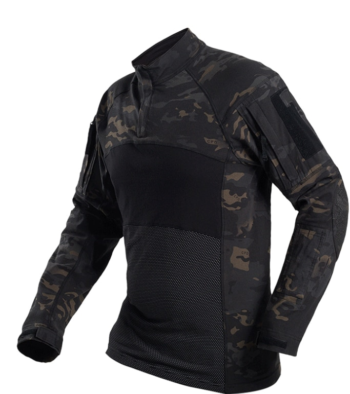 Brand Military Camouflage T Shirt Men Multicam Uniform Tactical Long Sleeve T-Shirt Airsoft Paintball Clothes Army Combat