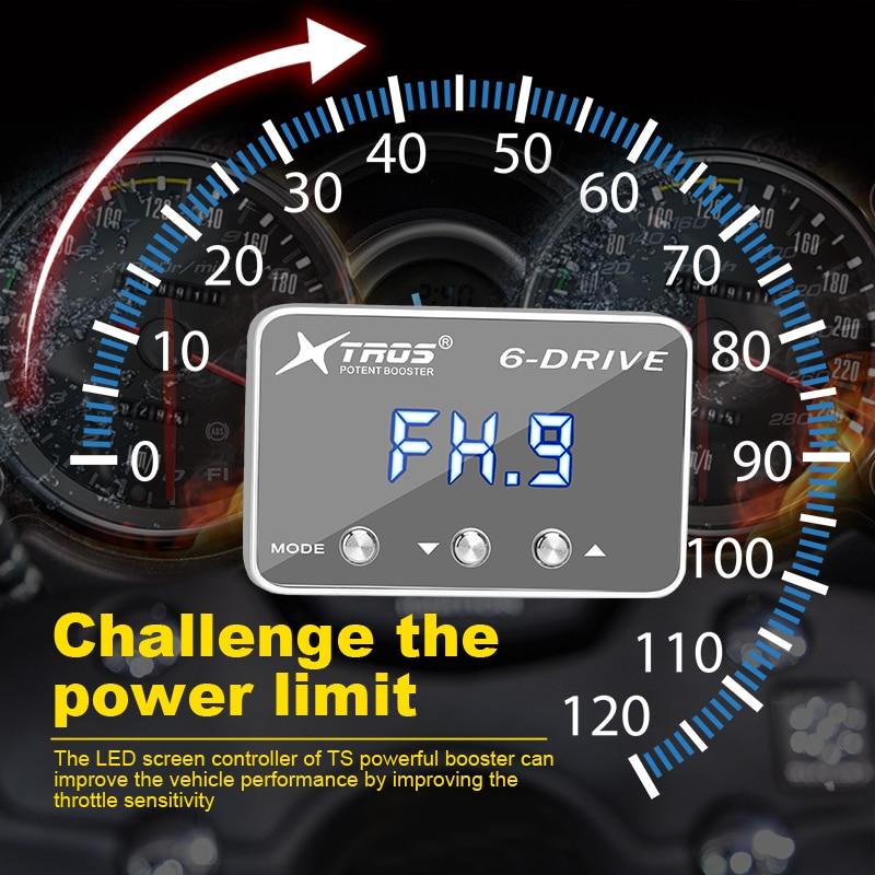 Para hyundai veloster 2012 + acelerador controlador poderoso impulsionador xtros poderoso