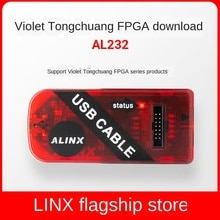 Alinx фиолетовый Tongchuang FPGA Core кабель для отладки USB симулятор загрузки XILINX ultrasinx MPSOC ZYNQ KINTEX-7 SPARTAN CYCLONE
