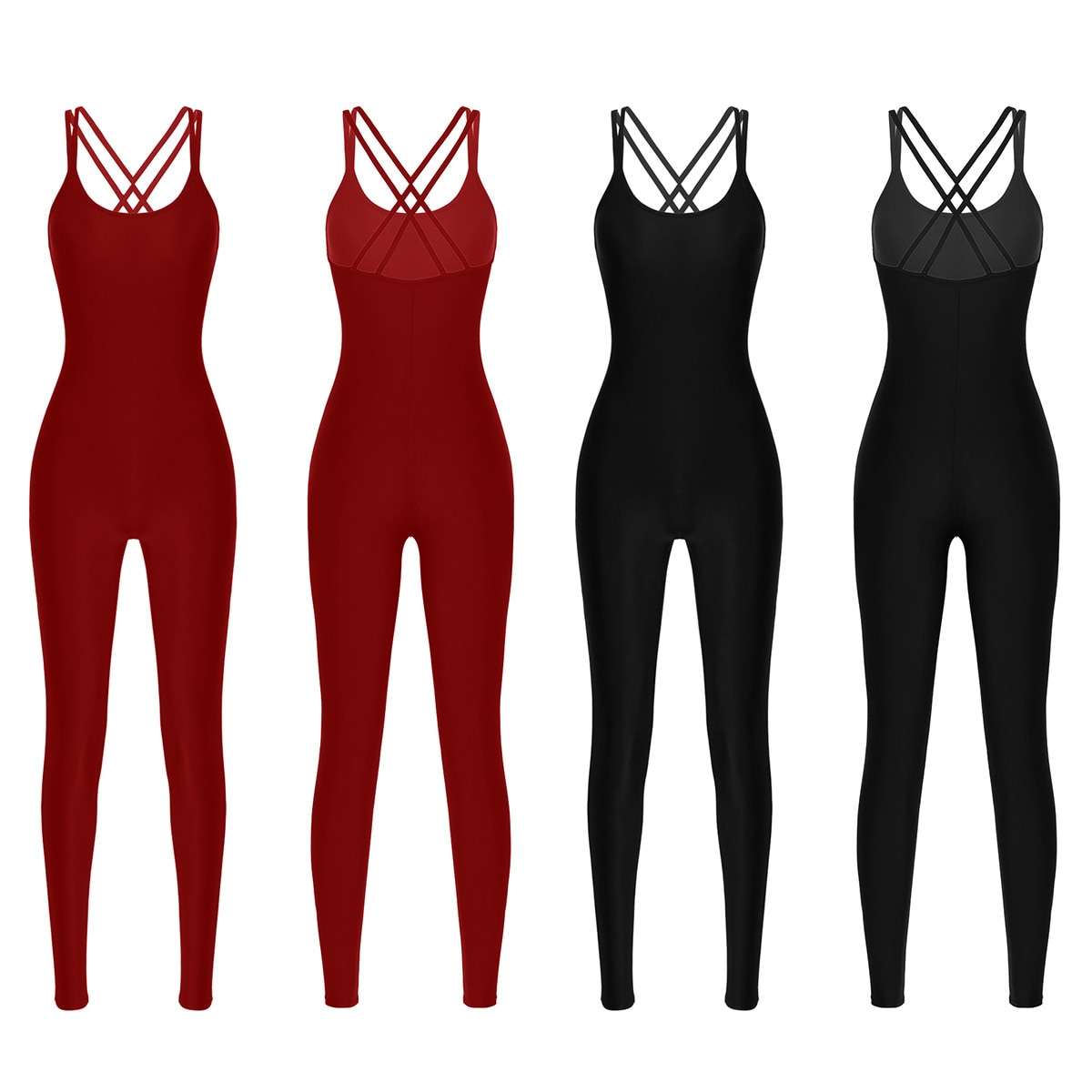 women-adult-high-quality-dance-catsuit-adult-ballet-bodysuit-lycra-spandex-unitard-women's-tank-yoga-clothes-leotard-jumpsuit