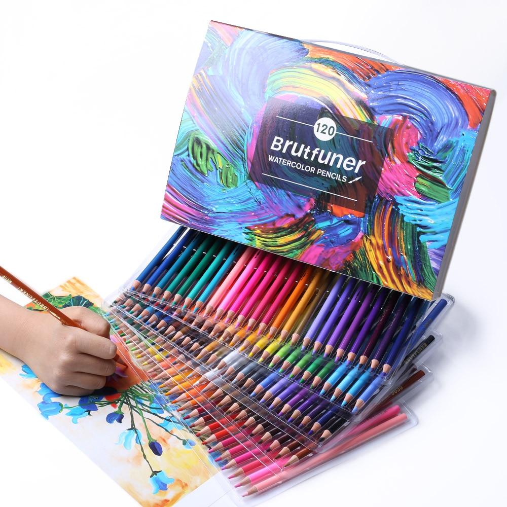 Набор профессиональных масляных цветных карандашей lapis de cor, художественная живопись, эскизки, фотография, цветной карандаш lapis de cor для школ...