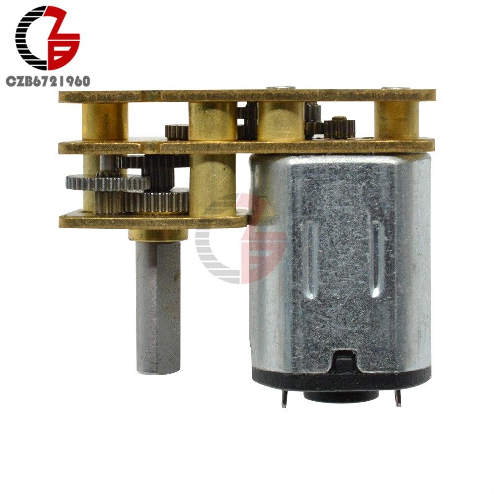 Ga1024 n20 dc engrenagem do motor 12 v 100 rpm linear elétrico miniatura motor para eletrodomésticos ventilador carro hobby brinquedo rc carro
