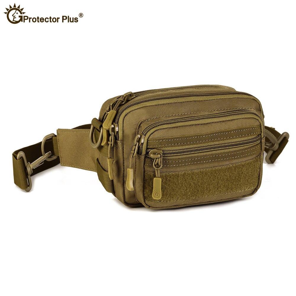 Bolsa Molle impermeable de nailon de camuflaje, riñonera para hombres, paquete militar de escalada táctica, paquetes adjuntos del ejército, bolsas de viaje para senderismo