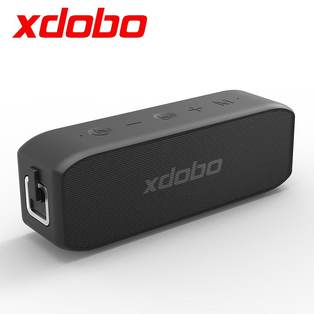 XDOBO Wing 2020 20W Altavoz Bluetooth a prueba de agua BT5.0, barra de sonido subwoofer de Supergraves con batería tipo-c USB DSP