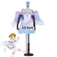 Love Live White Day Koizumi Hanayo Dress Uniform Outfit Anime Customize Cosplay Costumes