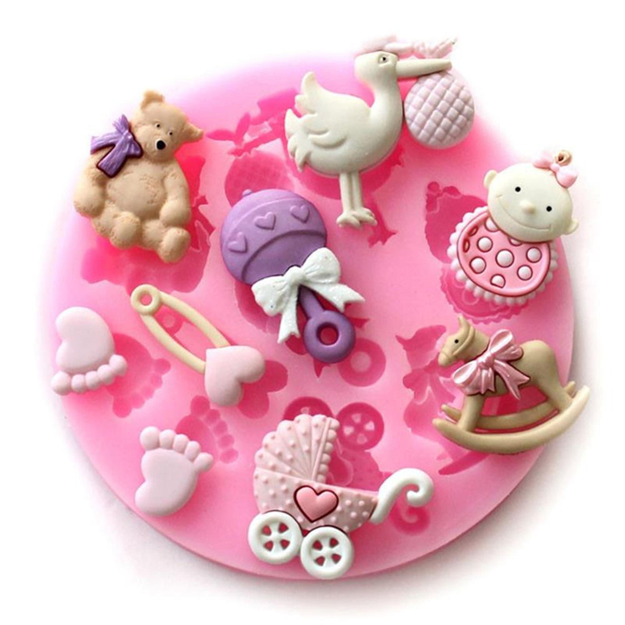 Силиконовая формы для помадки шоколада «сделай сам» для выпечки, украшения торта, кухонные инструменты м011