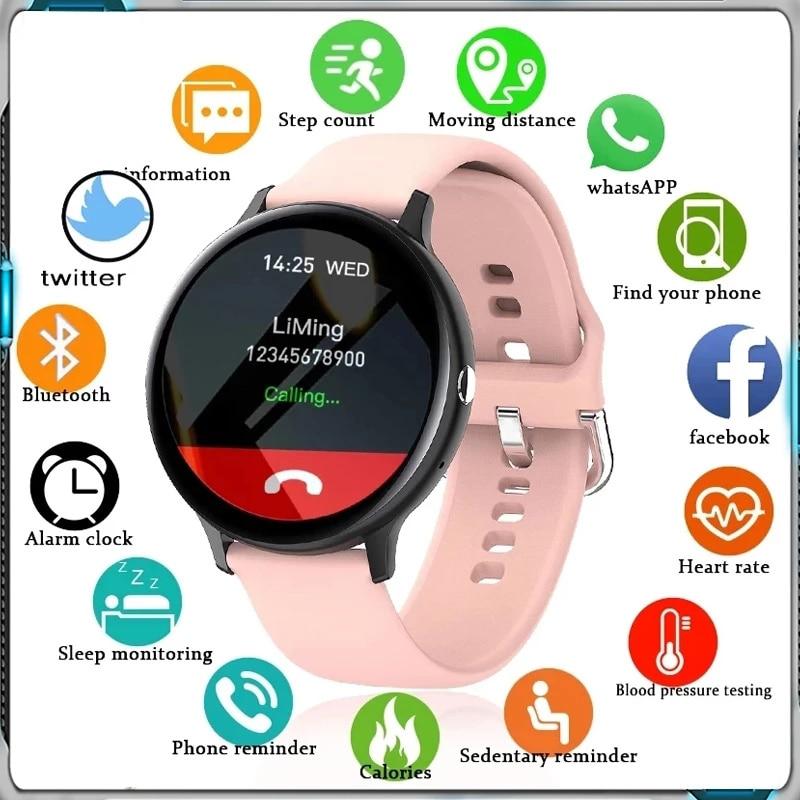 2021 New Smart Bluetooth Call Watch Men Women Sports Heart Rate Multifunctional Fitness Bracelet Wat