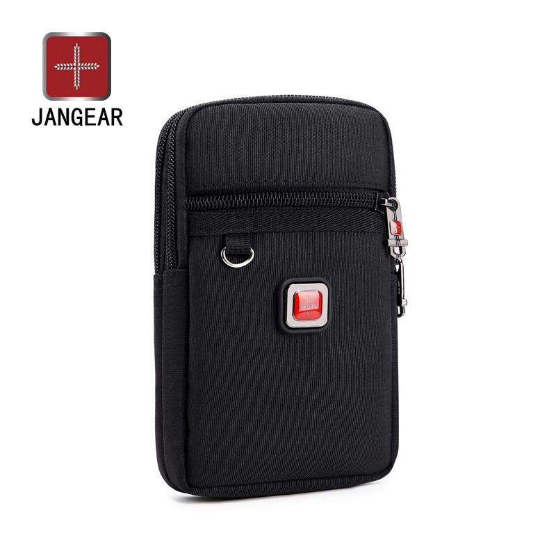 Jangear гидроизоляция Оксфорд мобильный телефон карман ключ монета кошелек мужской телефон сумка многофункциональный ретранслятор