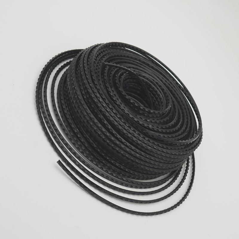 3MM X 50M Brushcutter Trimmer  Rope Saw Line Fit For Brush Cutter Grass Strimmer Nylon Square Sawtooth Rope Spare Parts