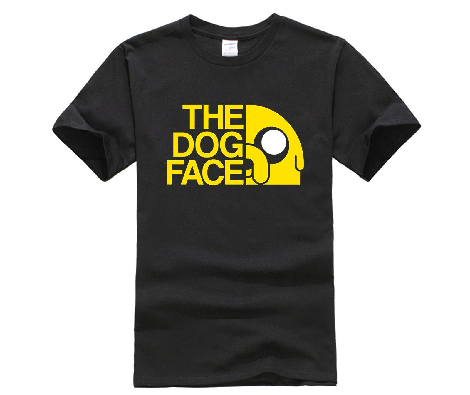 Novedad de verano, camiseta de animación Adventure Time, Camiseta con estampado divertido de dibujos animados en 3d de Finn y Jake man y The dog face, camiseta estampada a la moda Unisex