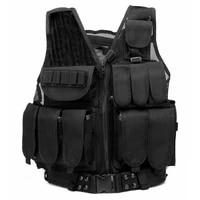 mens tactical vest outdoor ultra light breathable combat training vest airsoft paintball vest military vest sport vest adults
