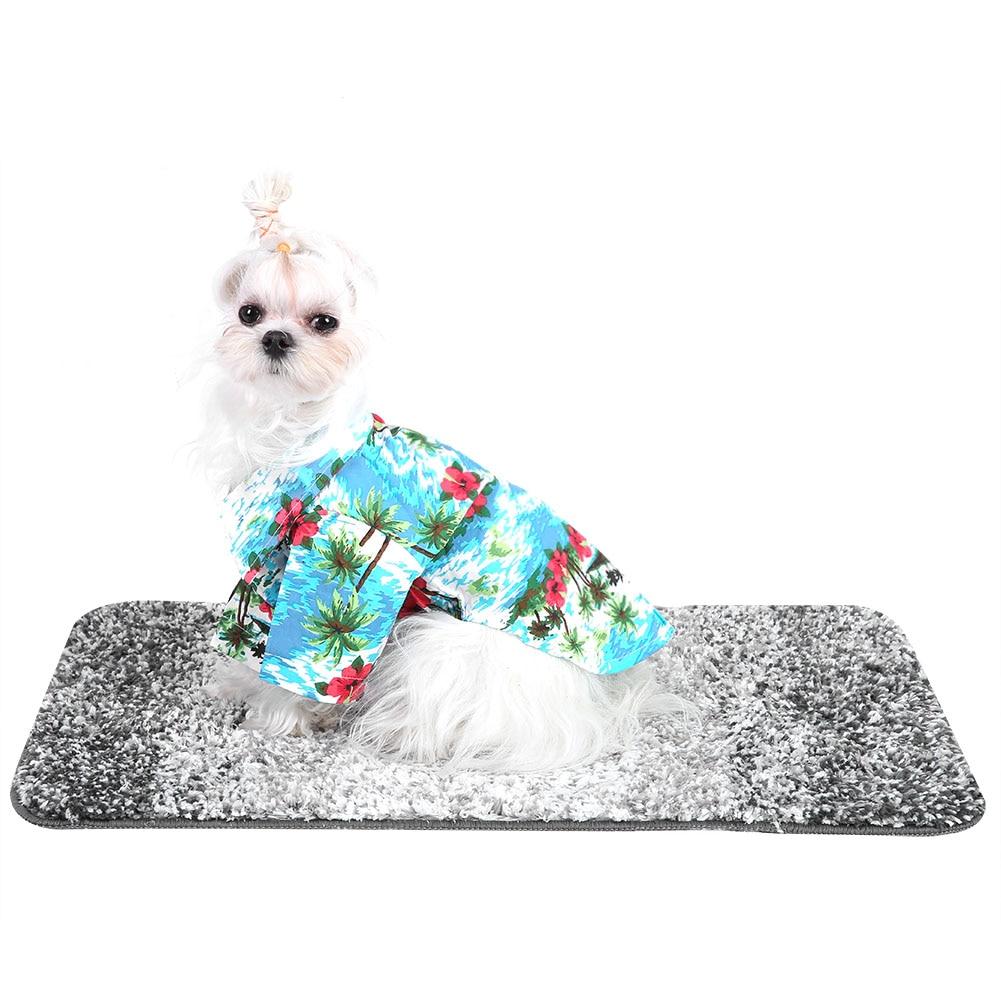 Camiseta transpirable para mascotas, ropa para perros/gatos, camisas Estilo Hawaiano, ropa para mascotas para verano y otoño, ropa para llevar S/M/L Dropshipping