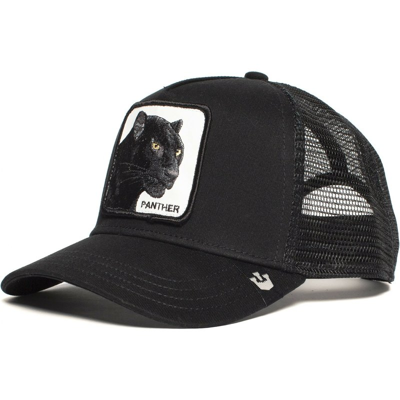 Panther Mesh Cap Summer Baseball Cap Anime Gorilla King Black Trucker Hat Dad Hat Net Snapback Women Men