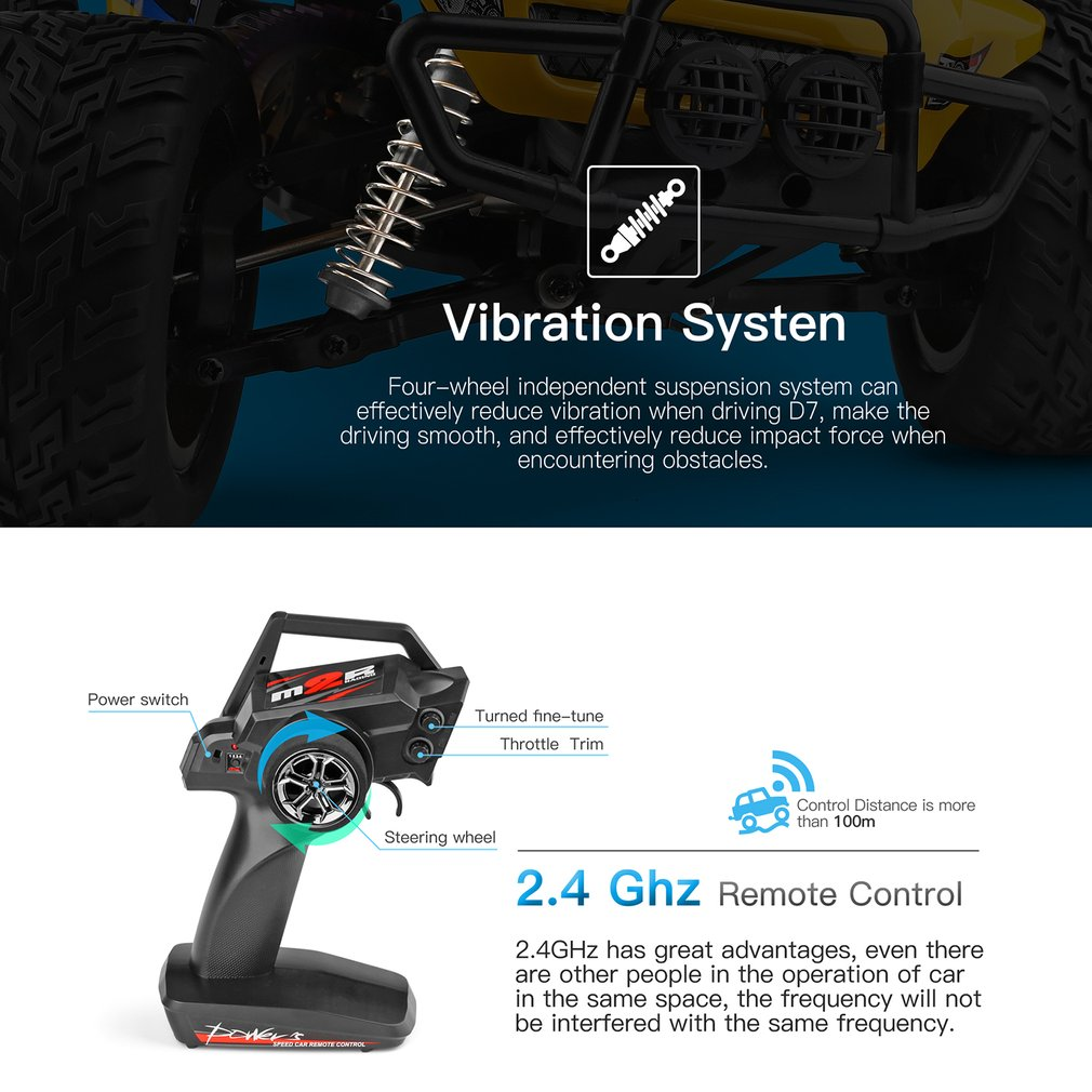Wltoys 12402a 1/12 4WD 2.4G RC Car Vehicle Models High Speed 45km/h Remote Control Car Adults Off-Road Truck Vehicle Toy 12402-A enlarge