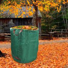272L/120L/300L/500L Leaves Grass Reusable Tear-resistant Lawn Mowing Large Capacity Garden Waste Bag Garden supplies