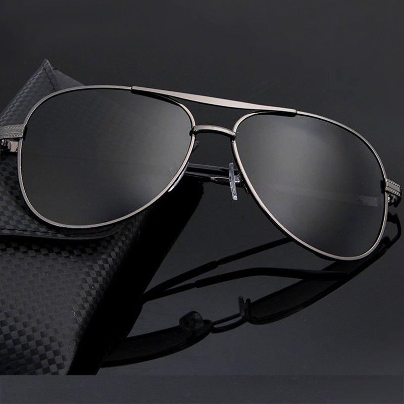 Новые Мужские Простые солнцезащитные очки для улицы зеркальные Мужские поляризационные зеркальные очки-раскладушки для внедорожников мот...