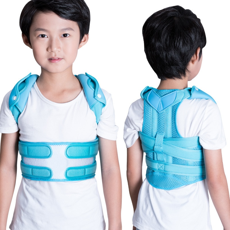 Double Keel Children's Hunchback Correction Device For Primary School Students Teenagers Invisible Men& Women Sitting Adjustment