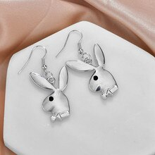 Bear Drop Earring Resin Cartoon Sweet Candy Colorful Animal Unique Resin For Women Funny Party Jewel
