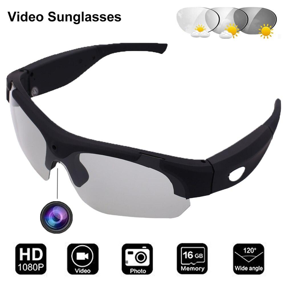 نظارات كونوي المصغرة لكاميرات الفيديو نظارات الفيديو الرياضية المستقطبة نظارات تسجيل الكاميرا والصور نظارات DVR المحمولة نظارات