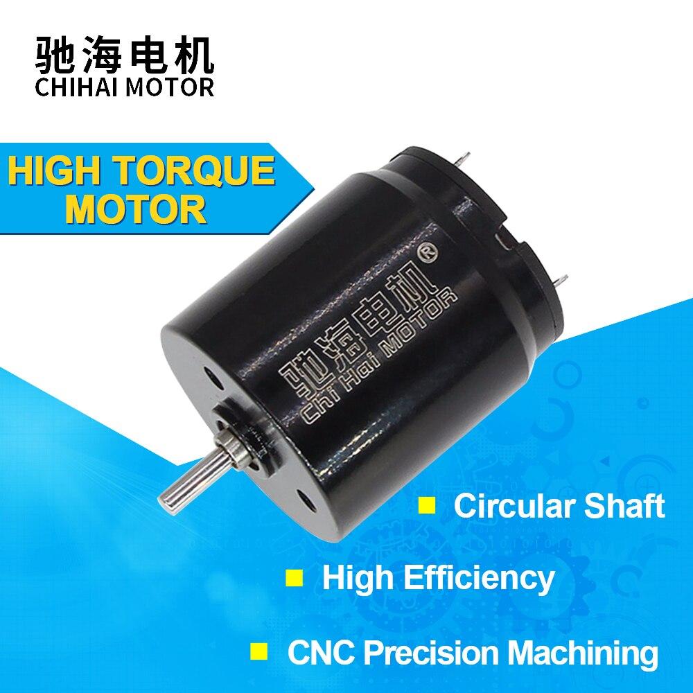 CHH-2225CU DC 12V 22mm rodamiento de bolas Motor sin núcleo DC para tatuaje máquina pistola motor libélula tatuaje máquina de pistola rotativa