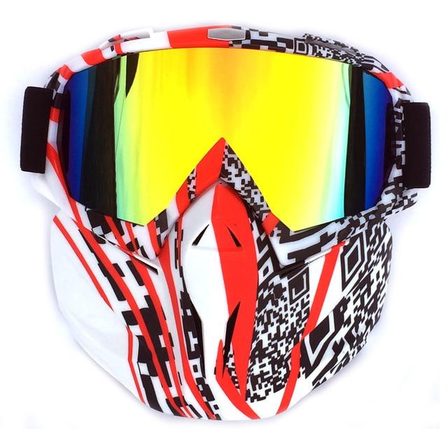 V-2 Windproof מוטוקרוס משקפי שמש nowmobile משקפי סקי משקפי סקי מסכת סנובורד משקפיים Eyewear