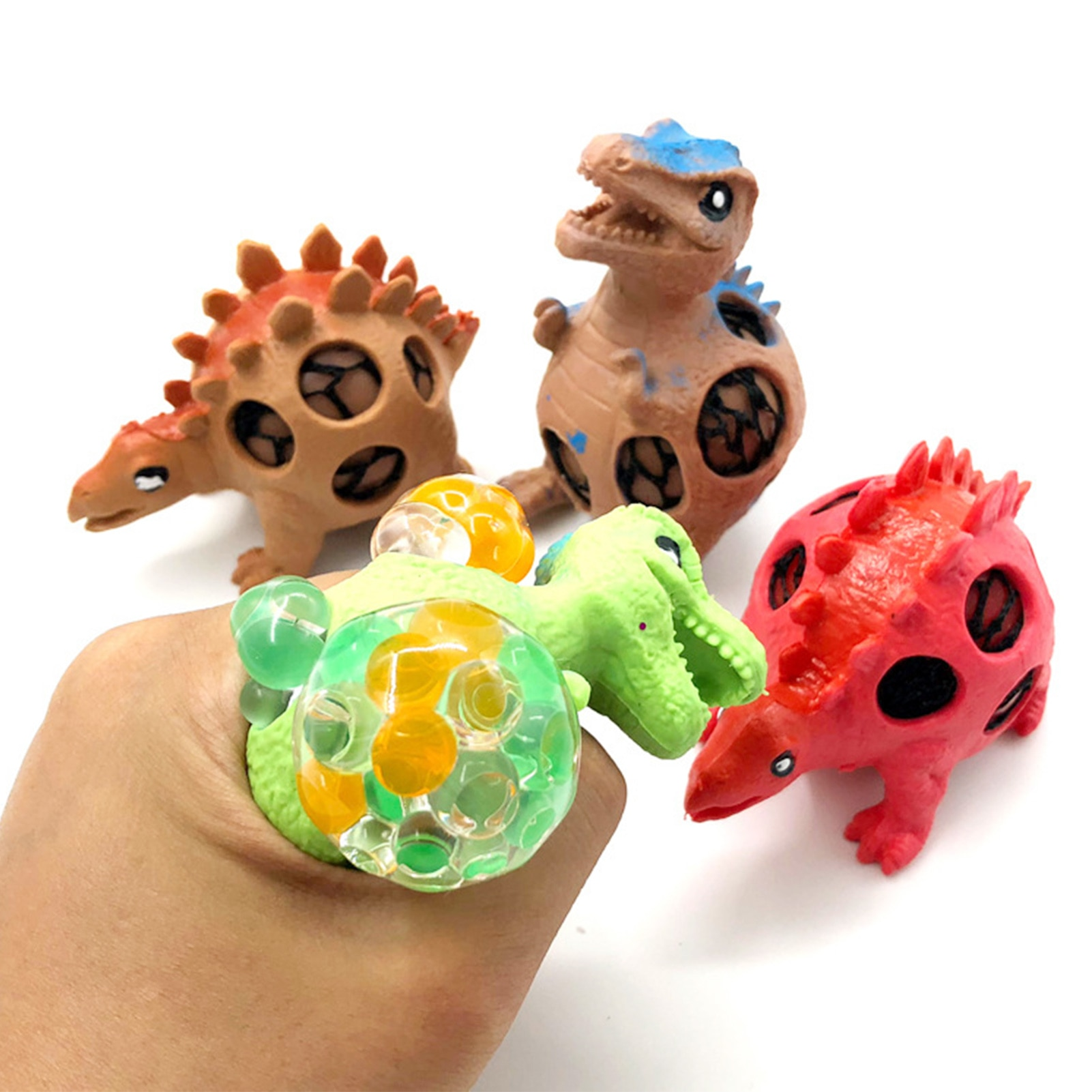 32 Pack Portable Fidget Sensory Toys Set Antistress Novelty Durable Toy Adults Kids Simple Dimple Office Stress Relief Education enlarge