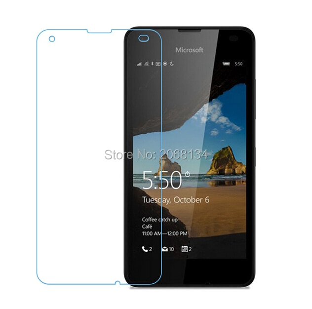 2.5D For Nokia Lumia 550 Tempered Glass Original Front Guard Protective Film Explosion-proof Screen