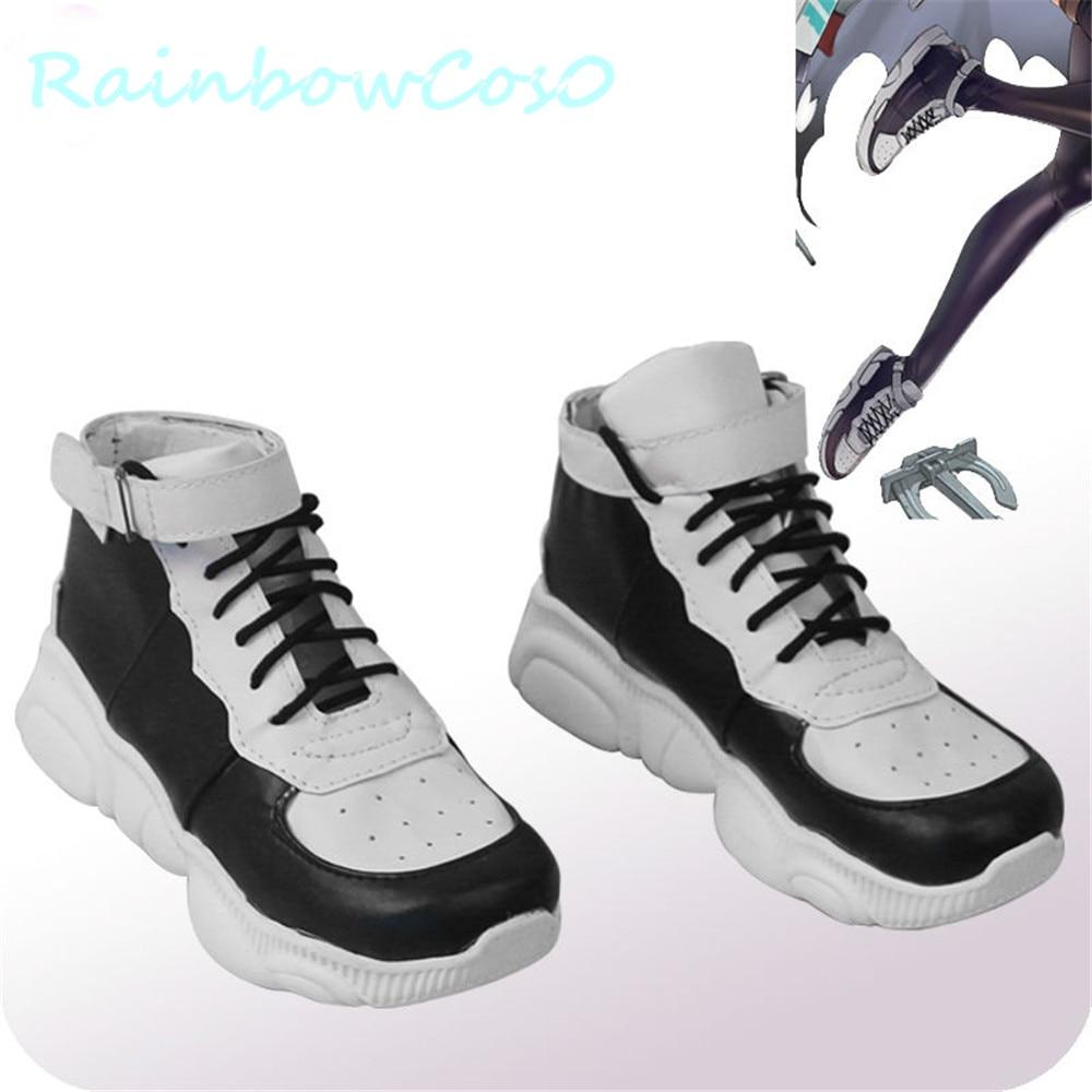 RainbowCos0 Cosplay Zapatos azul Lane Alabama Navidad AAC tejón de miel botas juego Anime Halloween