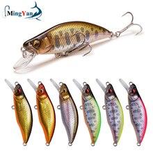 1pc Japan Design 51mm 4.2g affondamento Minnow Fishing Lure alta qualità Hard Crankbait Stream Fishing Lure per pesce persico luccio trota Bass