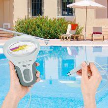 CL2 testeur 2 en 1 qualité de leau PH et chlore niveau de PC-102 Portable numérique ph-mètre piscine Spa Instruments analytiques 2020