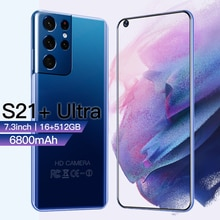 Galay S21+Ultra Smartphone 7.3 inch 16GB+512GB 6800mAh Unlock Global Version 4G/5G Android10.0 Mobil