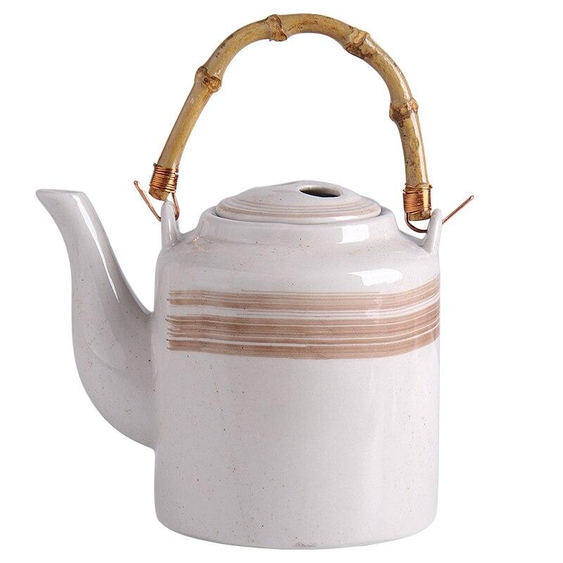 Hecho a mano chino Tetera de cerámica Vintage de gran capacidad té...