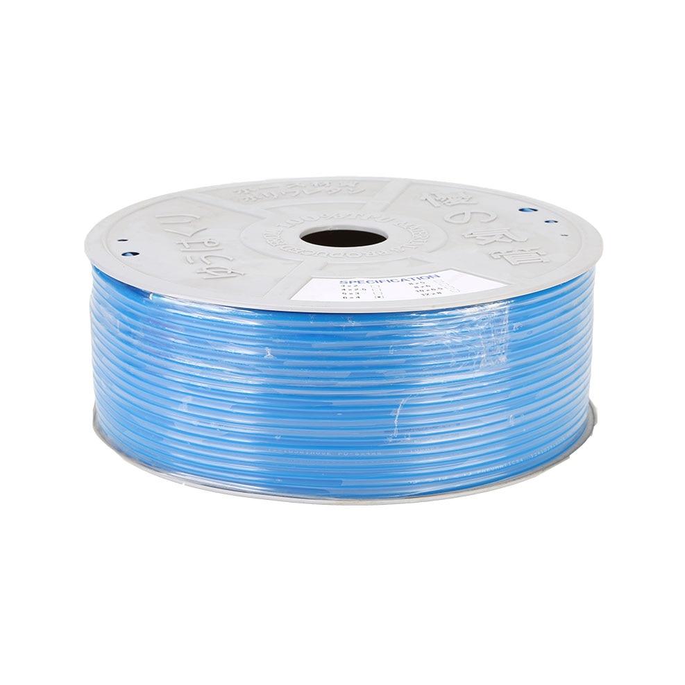 10 mètres tuyau pneumatique tuyau en polyuréthane 4*2.5mm 6*4mm 8*5mm 10*6.5mm 12*8 14*10mm 16*12mm tuyau de compresseur de tube dair