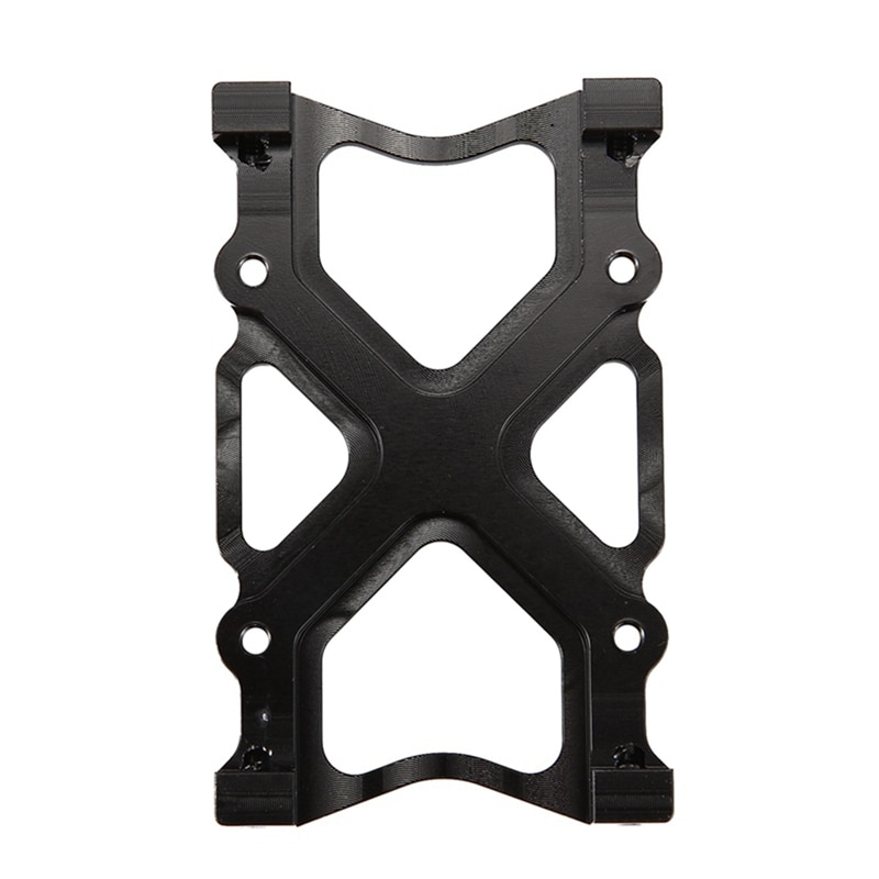 Aluminum Bumper Mounting Plate Accessories for for AXIAL SCX10 & RC Car Winch Tow Rope Snatch Block enlarge