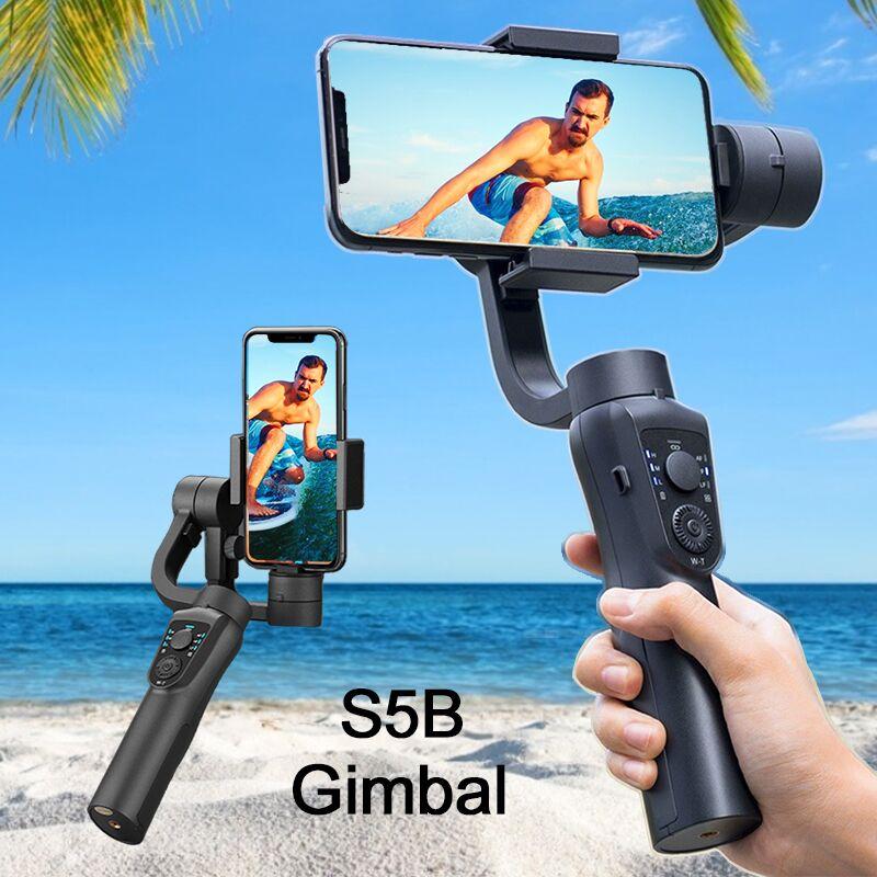 Celular para Telefone Orsda Estabilizador Cardan Ação Smartphone Câmera Gopro Ptz Handheld xs xr x 8 Plus 11 S5b 3-axis