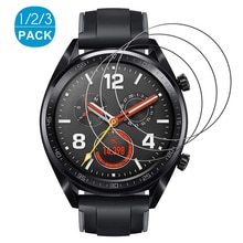 1-3Pcs protective glass for huawei watch 3 pro gt2 gt honor magic watch 2 42 46 mm gs pro screenprotector smartwatch accessories