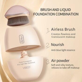 Professional Full Coverage Liquid Foundation Matte Long Wear Oil Control Concealer Liquid Foundation Cream Cosmetics TSLM1