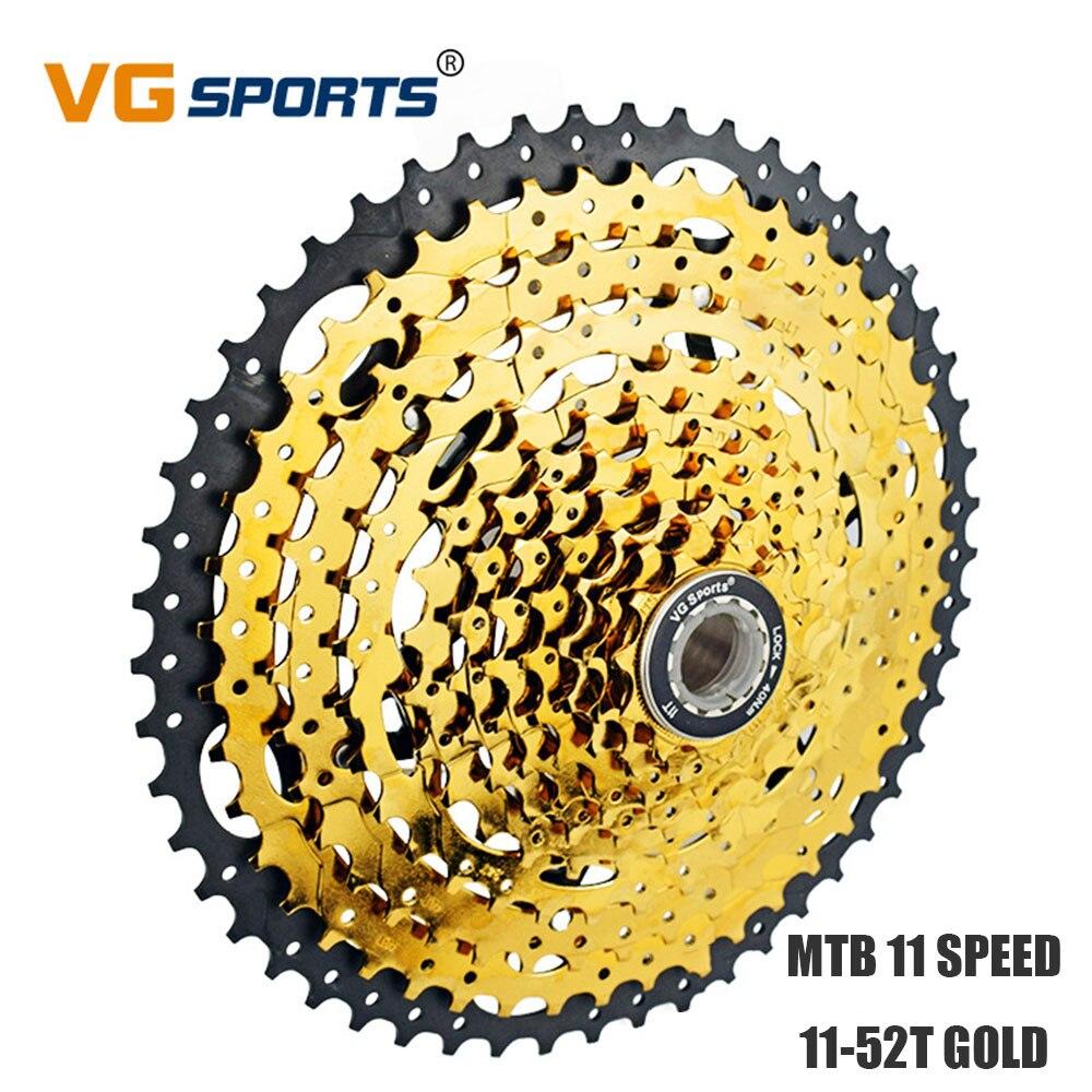 MTB велосипед Freewheel Золотая кассета 11 скоростей 52T 11 Velocidade 52T дорожный велосипед Звездочка 11 V 11s для Shimano Sram VG Sports