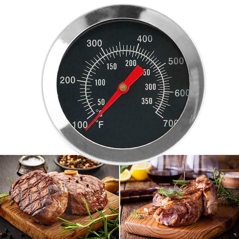 50-350℃ Stainless Steel Barbecue BBQ Smoker Grill Thermometer Temperature Gauge Oven Thermometer Household Merchandises dropship
