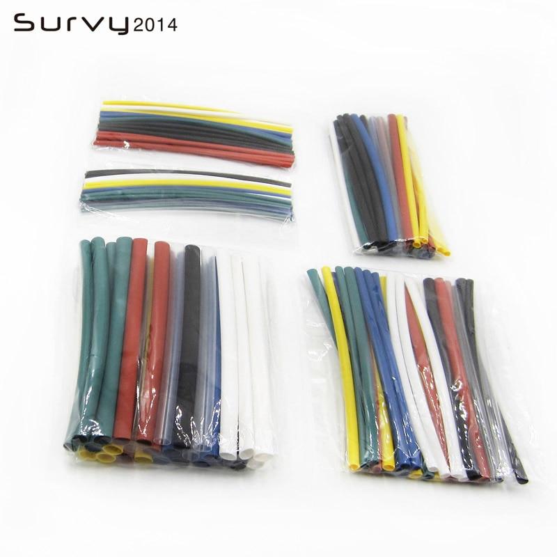 1 metro 21 7 cores 5 sizes1.0mm, 1.5mm, 2.5mm, 3.0mm, 5.0mm heatshrink heatshrink tubo fio dropshipping eletrônica