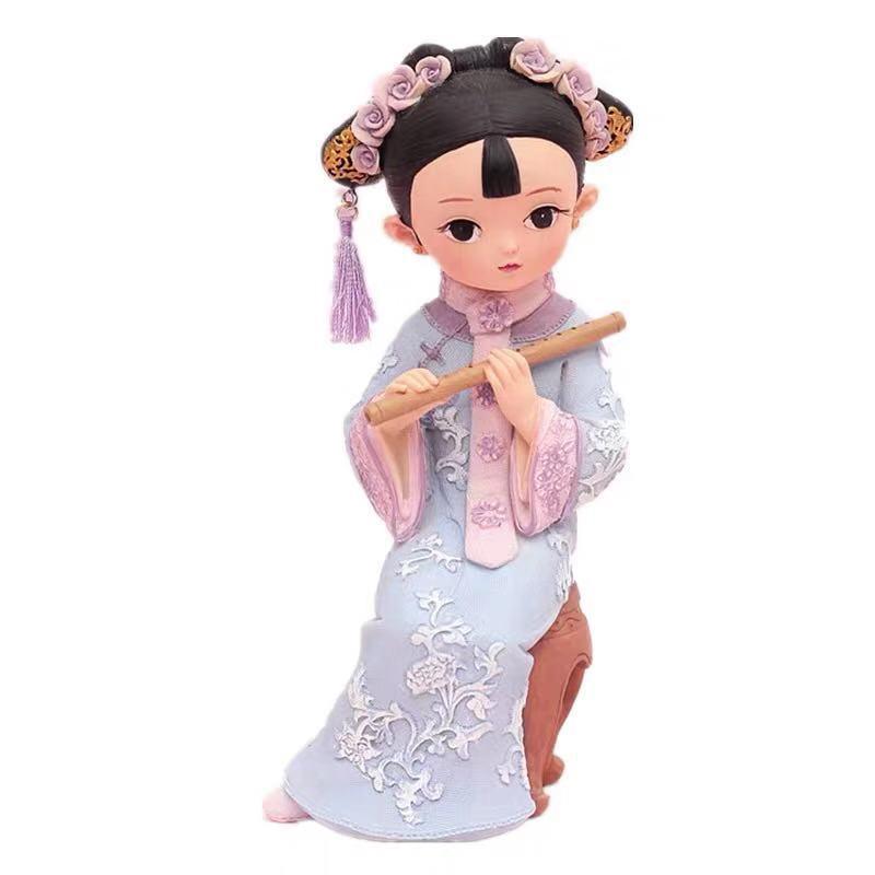 Креативные подарки, украшения для девочек в дворцовом стиле, ретро-украшение, подарок на день рождения для девочек, модная настольная кукла,...