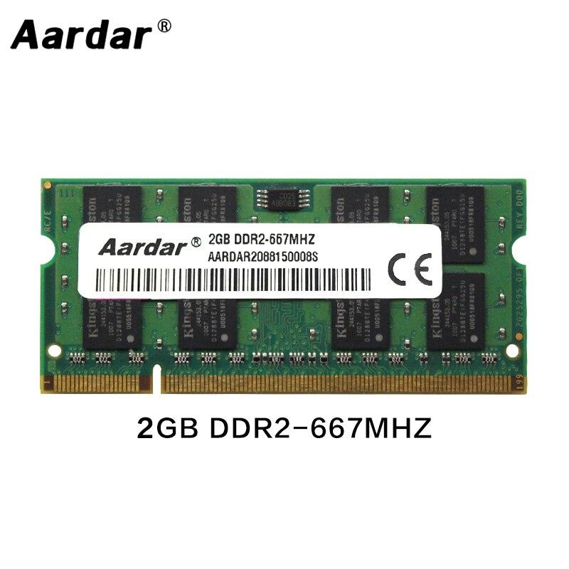 Memoria RAM DDR2 para ordenador portátil, 2GB, 800MHz, 667Mhz, acceso aleatorio, 800,...