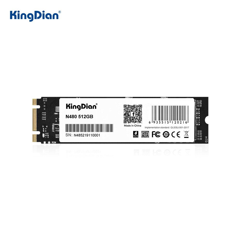 Ssd kingdian m2 128gb 256gb 512gb ssd 1tb m.2 2280 240gb 120gb 60gb m.2 sata disco rígido unidades de estado sólido interno