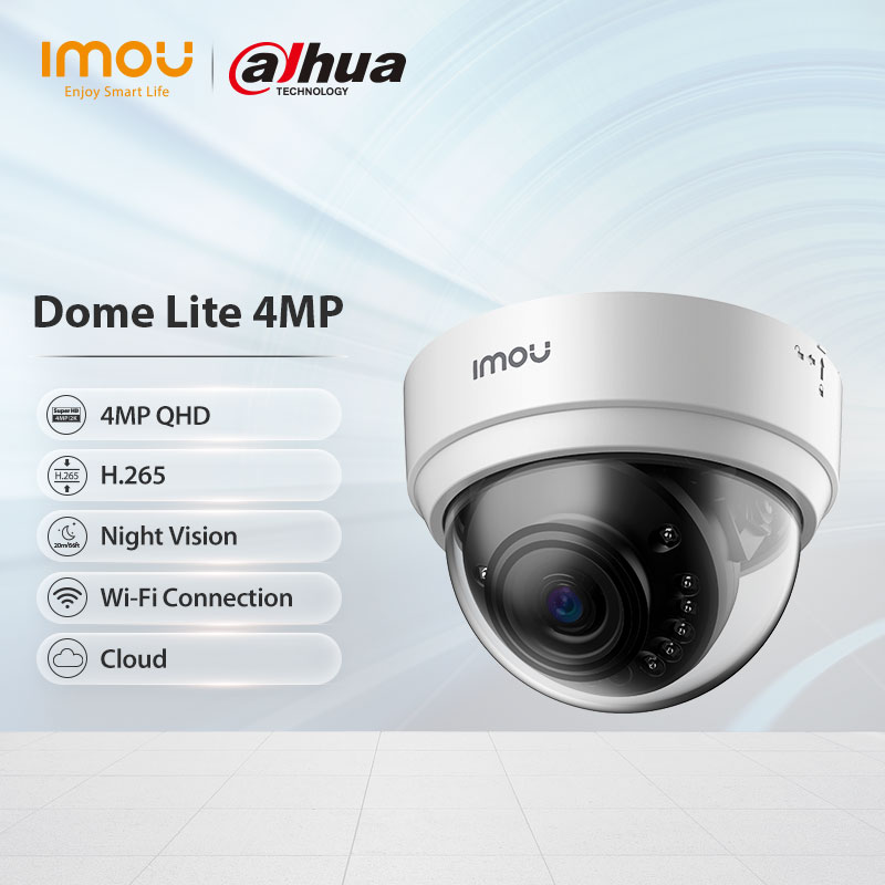 AliExpress - Dahua Imou Dome Lite 4MP Indoor Baby Monitor Security Camera 20M Night Vision Surveillance Wifi Ip Camera