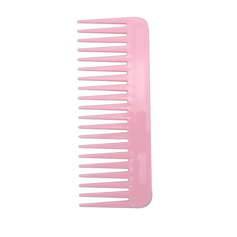 New 1 Pc 19 Teeth Tooth Comb Large Wide Plastic Pro Salon Barber Hairdressing Combs Reduce Hair Loss Hair Care Tool