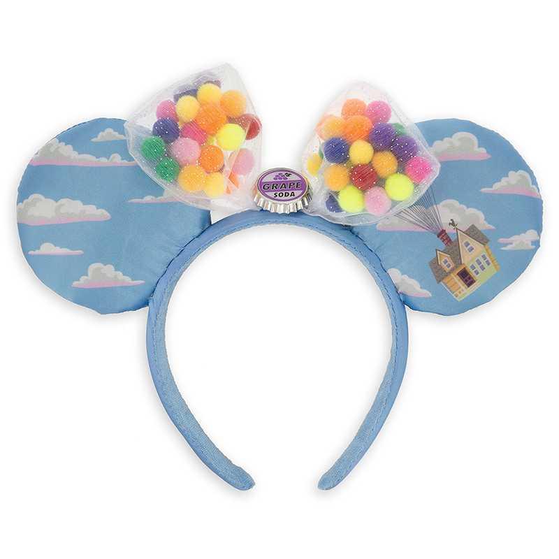 Minnie mickey mouse lentejuelas orejas azules disfraz diadema Cosplay felpa adultos/niños turbante